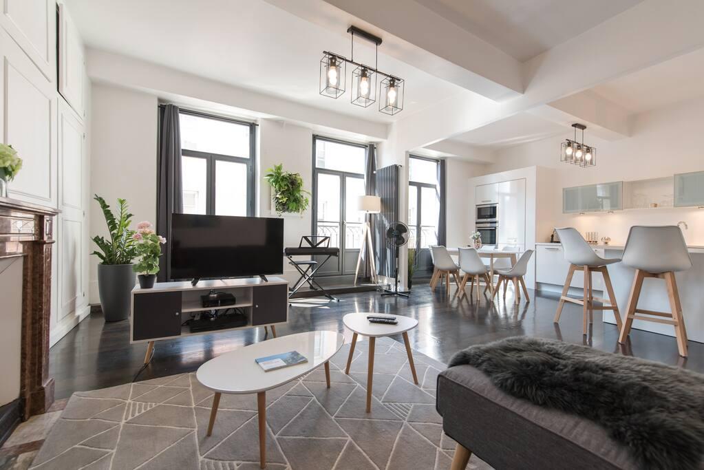 Vaste appartement hypercentre appartements louer for Location appartement atypique grenoble