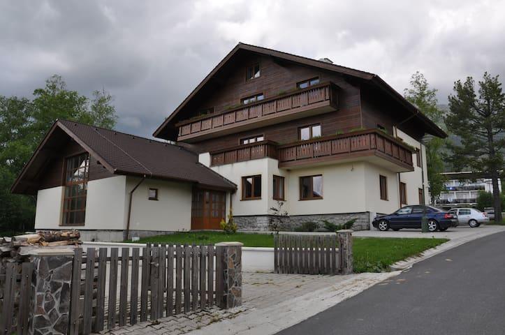Attic under shields of the High Tatras - Smokovec
