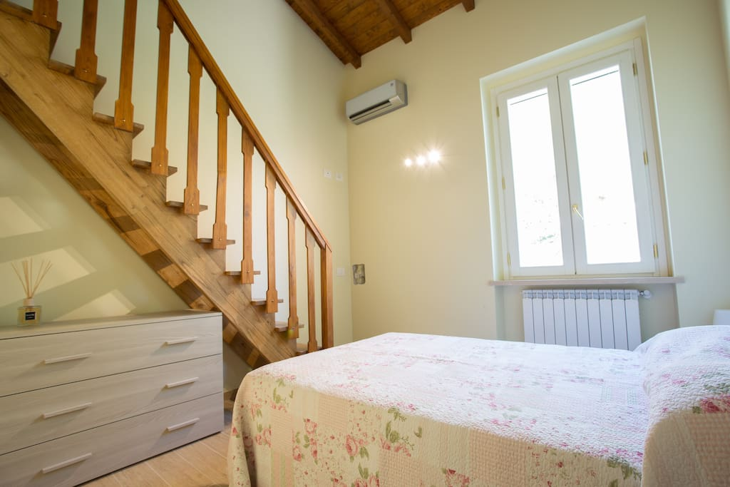Camera da letto con letto 1 piazza e mezza
