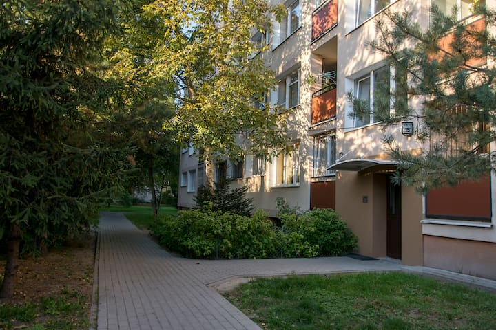 Apartament PRL Saska Kępa