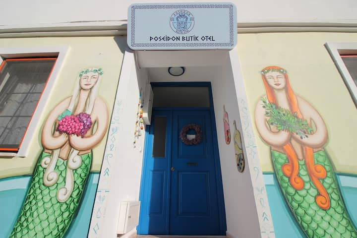 Bozcaada Merkez Poseidon Butik Otel