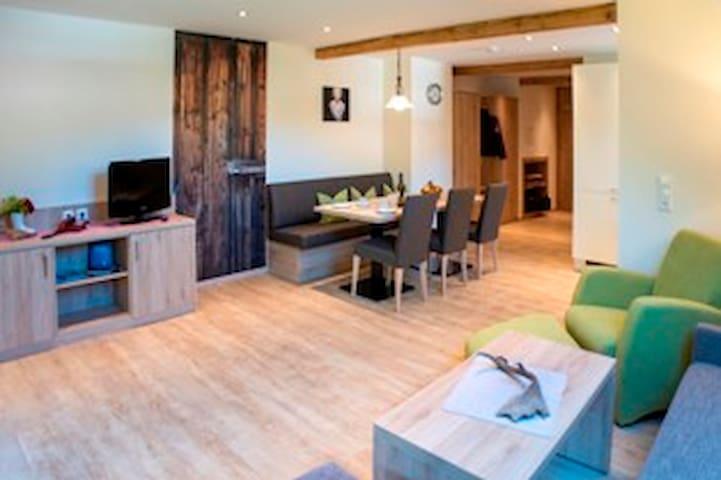Ferienhof Wußler, (Gengenbach), Ferienwohnung Moosblick, 50qm, 1 Schlafzimmer, max. 2 Personen