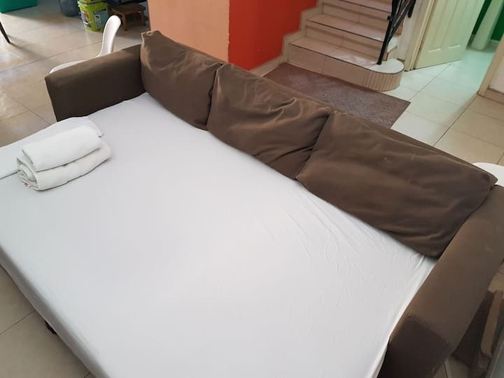 Sofabed confortable & great value