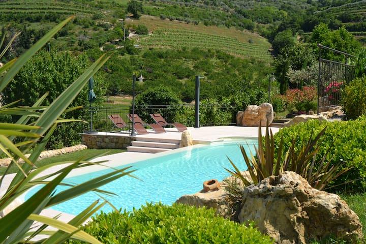 Agriturismo con piscina, tra le vigne del Soave