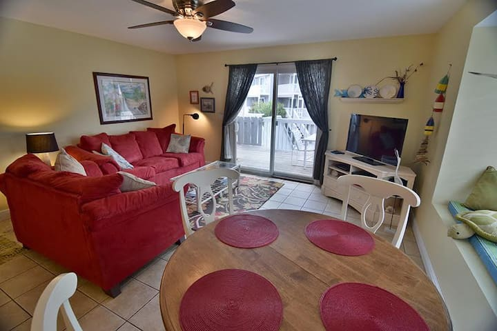 Loaded Gulf View End Unit - Only 90 Steps to Beach