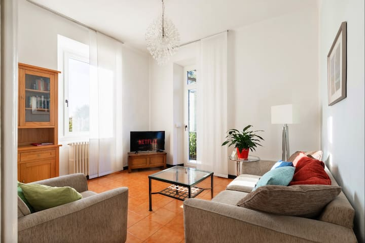Adda River Home on Lake Como ideal for families