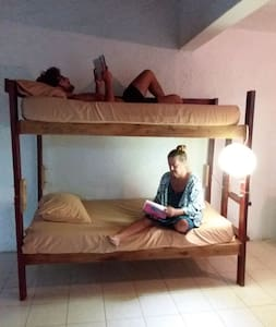 Bunk beds in Apart (hostel vibe)