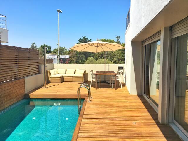 Estel de Begur, casa centro piscina&vistas al mar