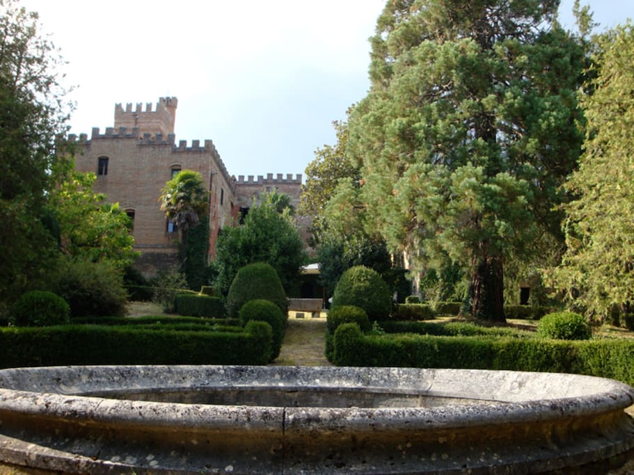 The Castle from the Italian Style Garden