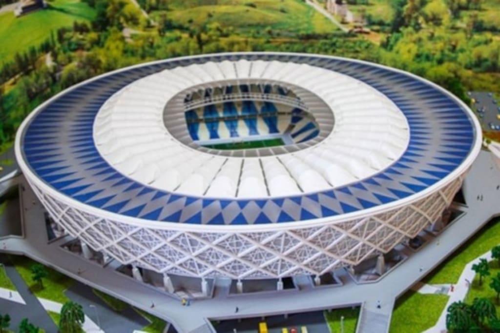Volgograd Arena 100 m