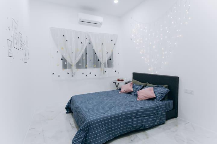 Couple Bedroom with Bathroom