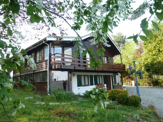 Chalet avec grand jardin dans les Ardennes - Marche-en-Famenne - Chalet