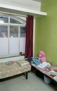 Room is located in heart of the city