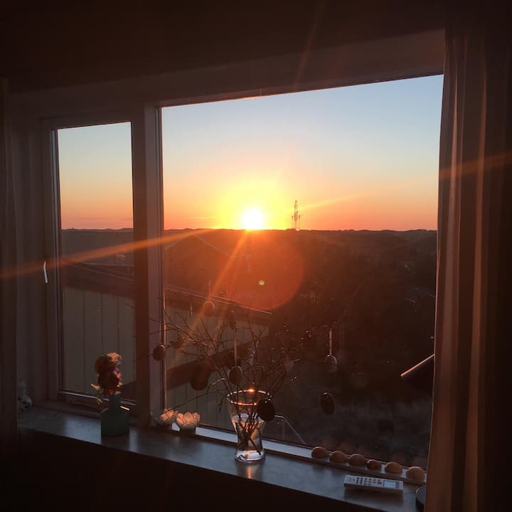 Apartment with sunset view and 400m to the sea