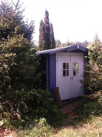"""""""Walden""""-Ruhe+Natur in spartanischer Gartenhütte - Starzach - กระท่อม"""