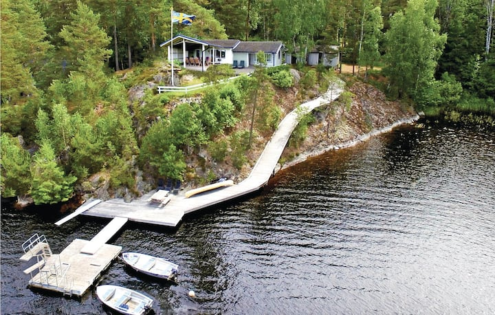 Awesome home in Årjäng with WiFi and 3 Bedrooms