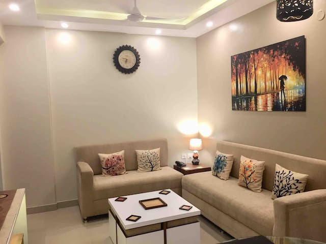 Homeshine  luxurious 3BHK unit, near Kol . airport