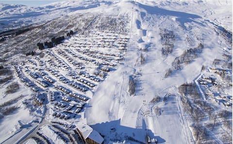 Myrkdalen: Ski in ski ut - rett ved skitrekket!
