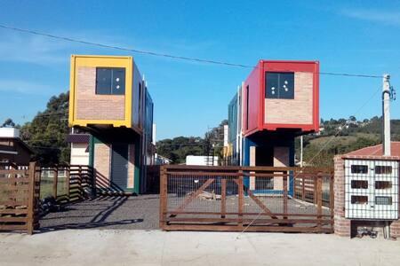 Apartamento Estúdio de Container - Caminito