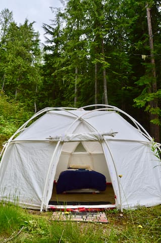 Crystal Mountain Geodesic Glamping - Selkirk Dome