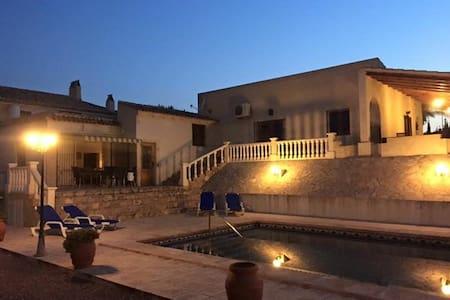 Schitterende Spaanse villa Aspe - Aspe - 別荘