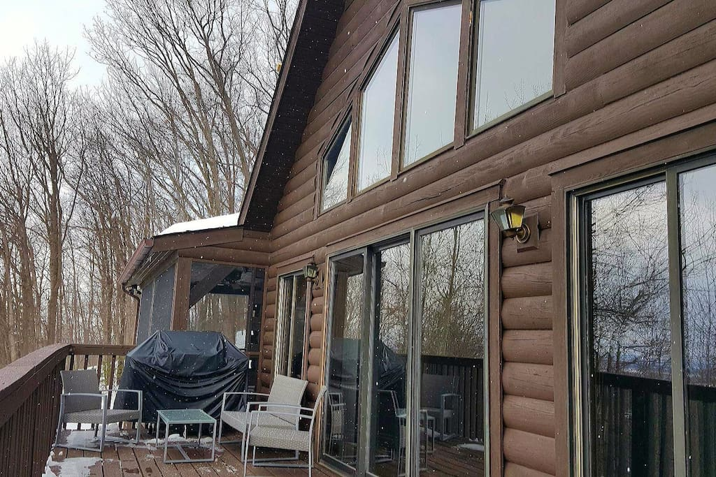 Jan. 29 view of porch