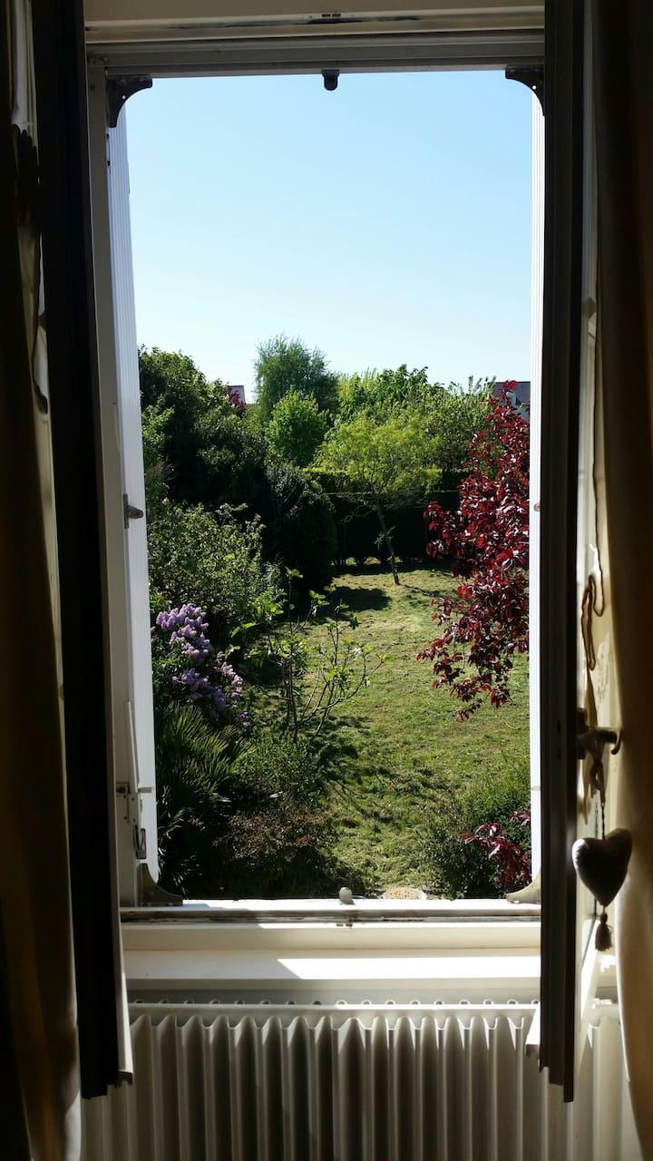 maison de famille au calme prés des bords de Loire