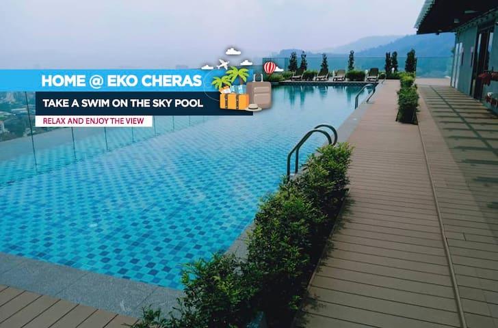 Home @ EkoCheras, Kuala Lumpur - MRT & Mall duplex