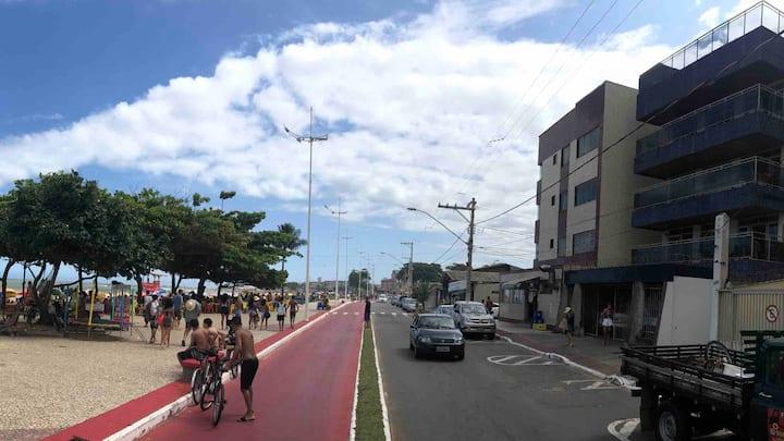 Apartamento localizado frente a praia de Jacaraípe