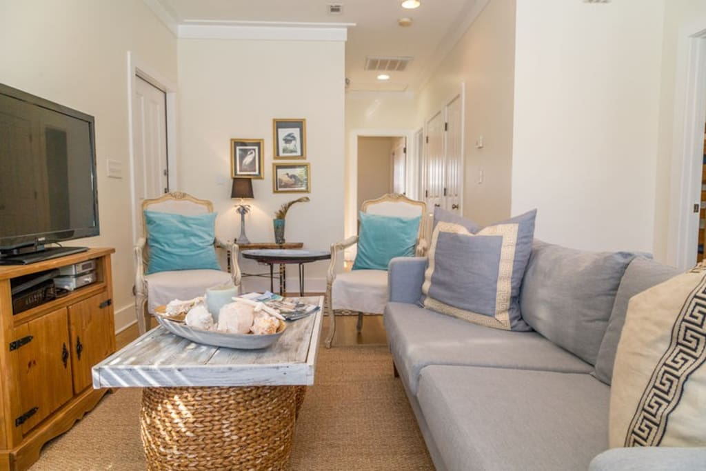 Beachy Keen has a beachy feel that you can only find in a 30A cottage!