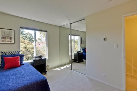 Private BR - quiet central location - Mountain View