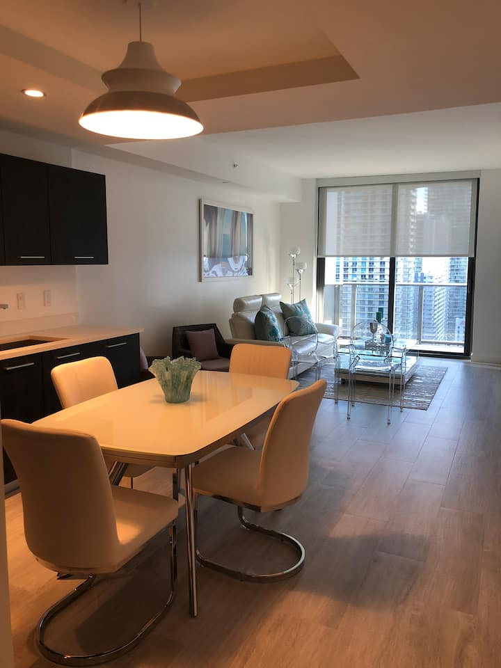 Awesome apartment in the heart of Brickell!!!