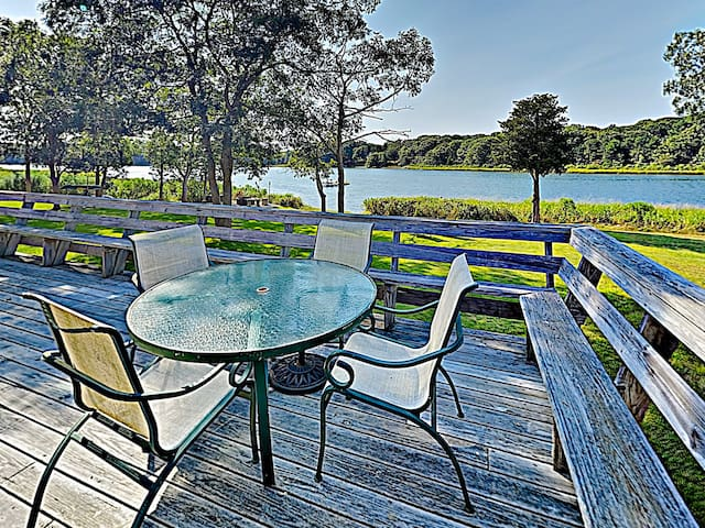 Step onto your expansive private deck to soak up the sun and feel the fresh sea breeze.
