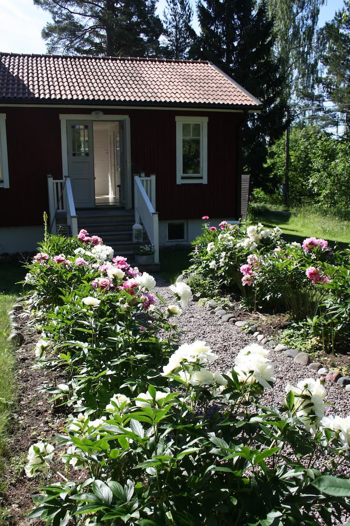 House at island, Blidö, Stockholm