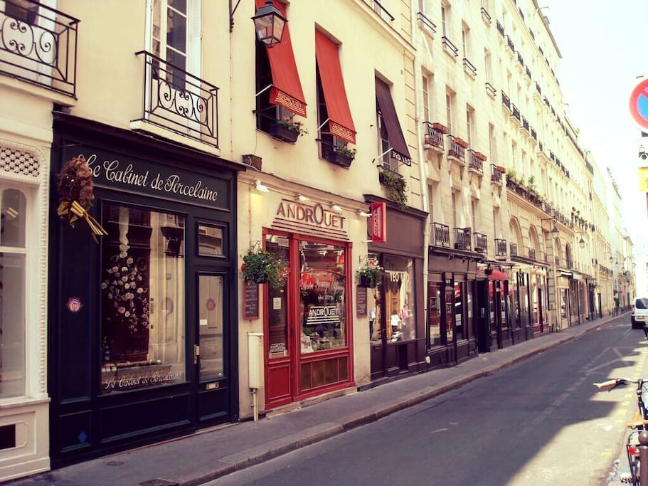 Nearby romantic streets