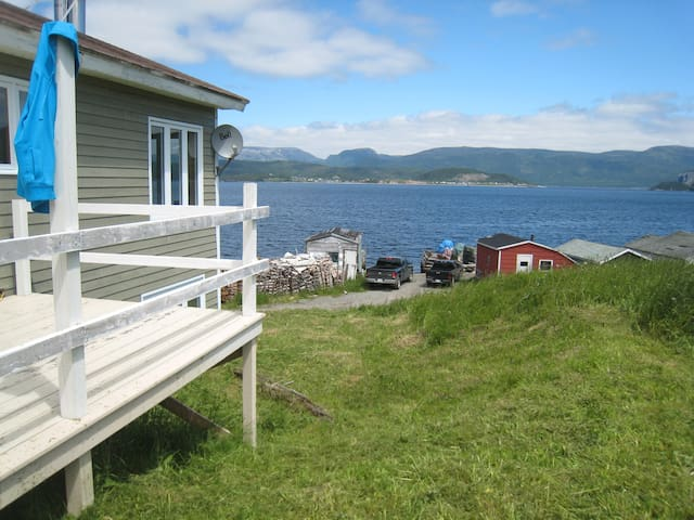 Looking out to Gros Morne