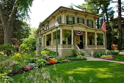 Step back into time in 1870 Italianate
