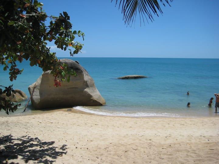 COCONUTCABANA on BEACH  2/3P CUISINE /WIFI OPTIC