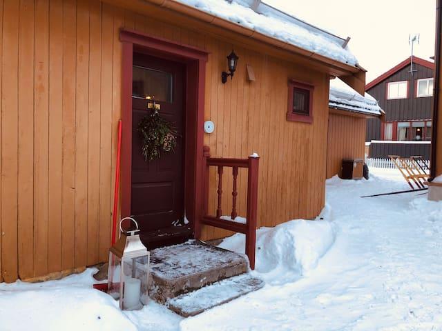 Studioleilighet midt i Røros sentrum m/ parkering