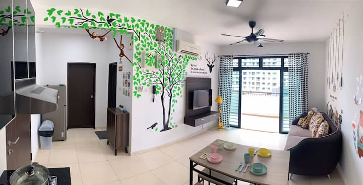 Animal Forest Homestay <UTM>The Garden Residence