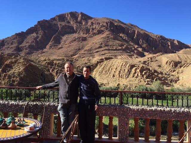 chambres ,montagne palmerais au pays berberes - Tinghir - Bed & Breakfast