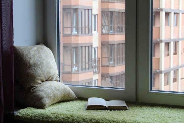 Квартира в доме комфорт класса ЖК Лиственный