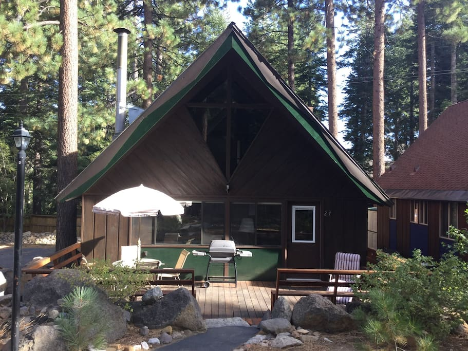Woods creek cabin incline village cabins for rent in for Cabin rentals in nevada