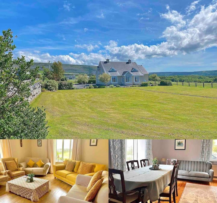 The Core Lodge- in the heart of the Burren