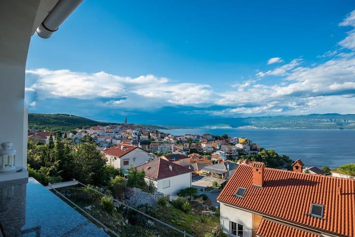Vita - studio apartment with panoramic sea view