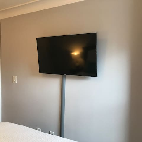 TV in the bedroom with Google Chromecast