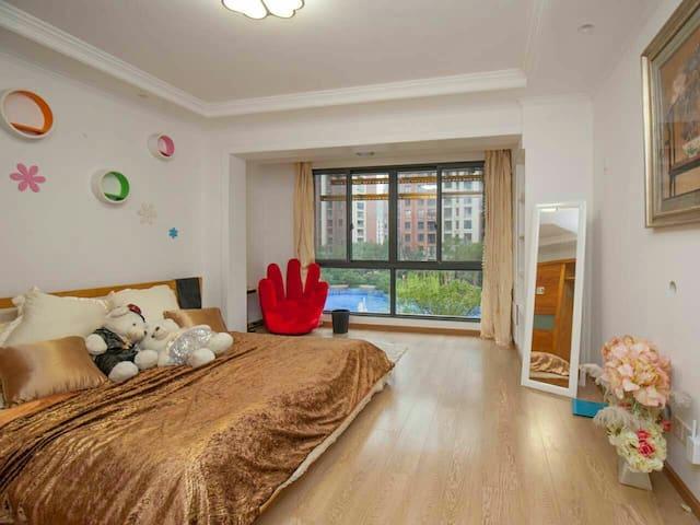 英伦高端住宅小区,两居室整租。可停车。浙音,中国美院相邻 - Hangzhou - Lejlighed