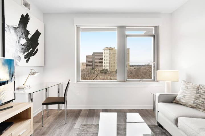 Sleek 1 Bed Apt | Crystal City Arlington | by GLS