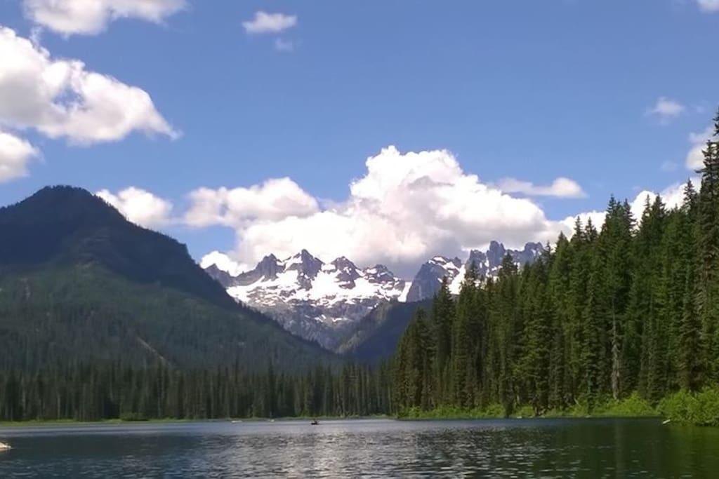 Cooper Lake (12 Miles away)