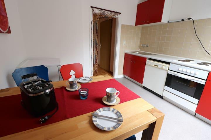 Wohnung mit Rheinblick - Vallendar - Appartement